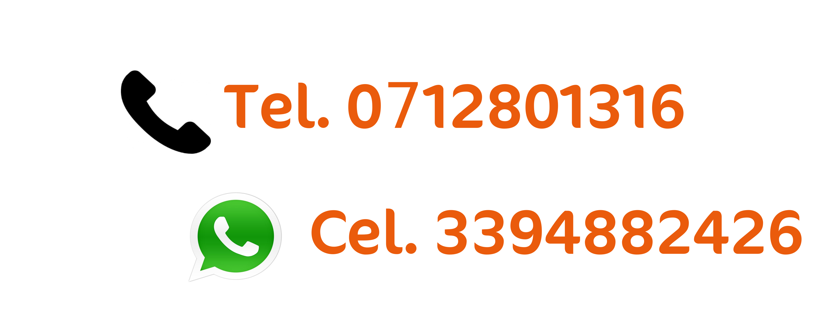 chiamaci al 3394882426